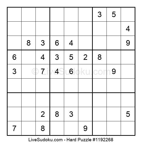 Hard Puzzle #1192268