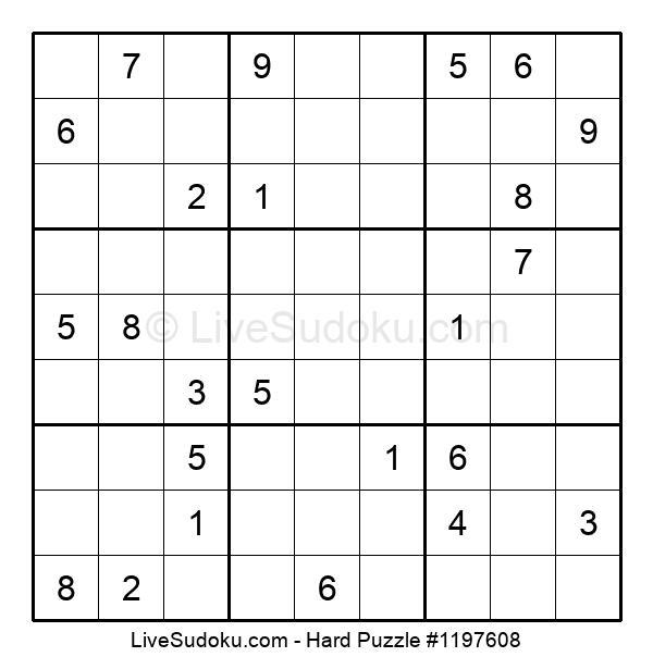 Hard Puzzle #1197608