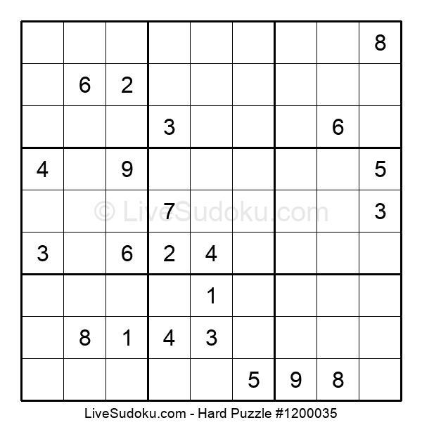 Hard Puzzle #1200035