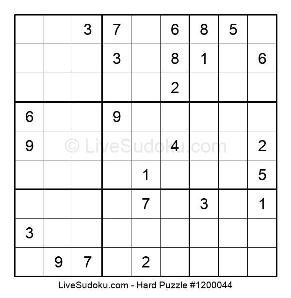 Hard Puzzle #1200044