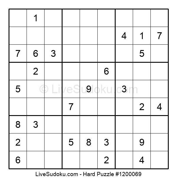 Hard Puzzle #1200069