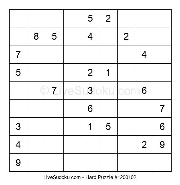 Hard Puzzle #1200102