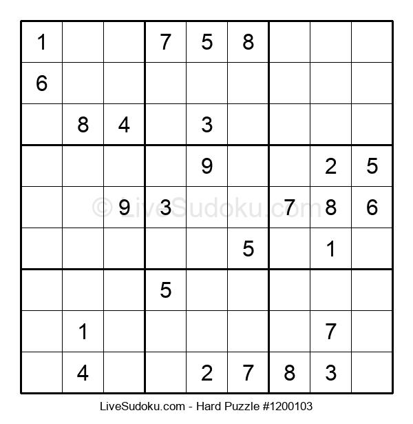 Hard Puzzle #1200103