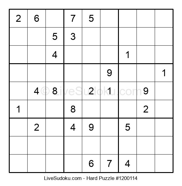 Hard Puzzle #1200114