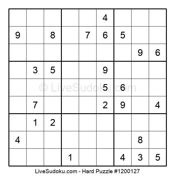 Hard Puzzle #1200127