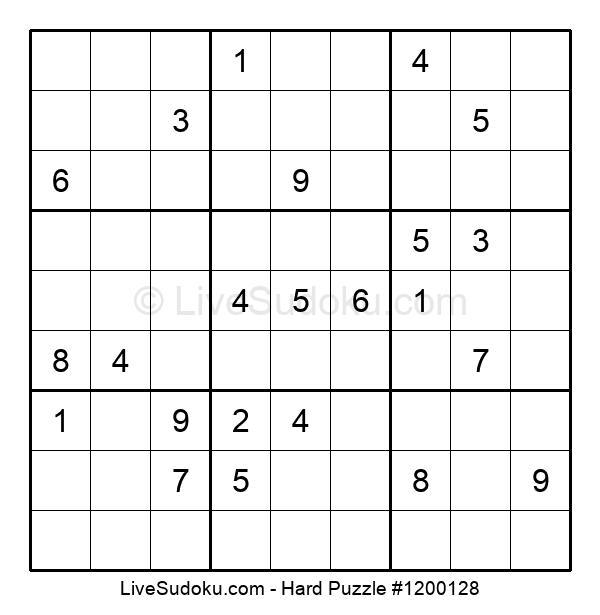 Hard Puzzle #1200128
