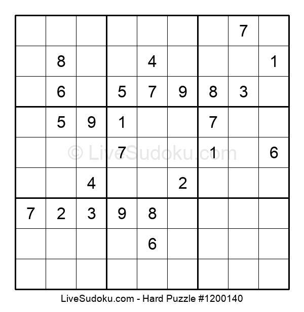 Hard Puzzle #1200140