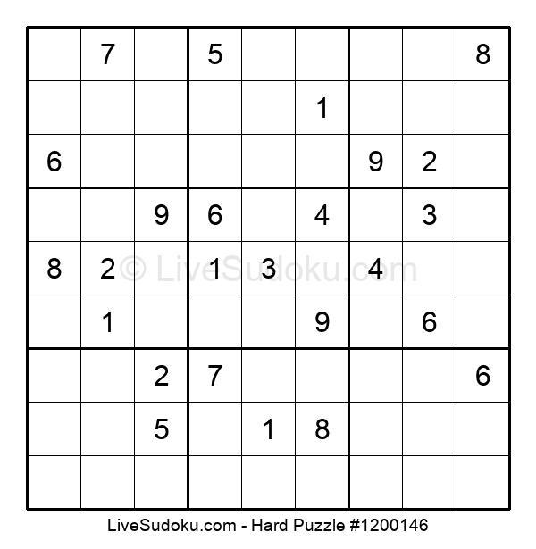 Hard Puzzle #1200146