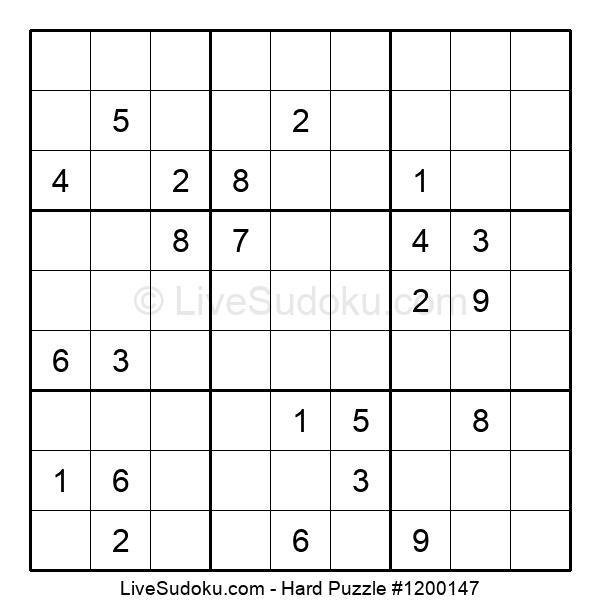 Hard Puzzle #1200147