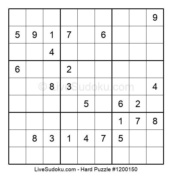 Hard Puzzle #1200150