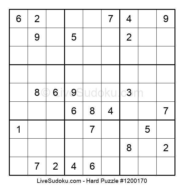 Hard Puzzle #1200170