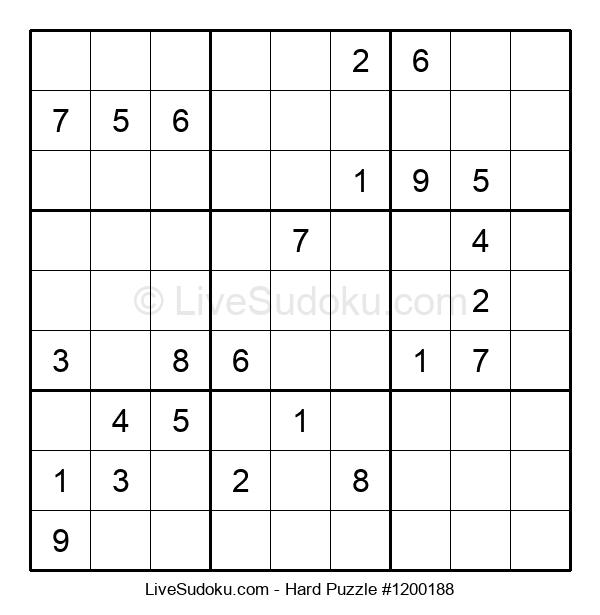 Hard Puzzle #1200188