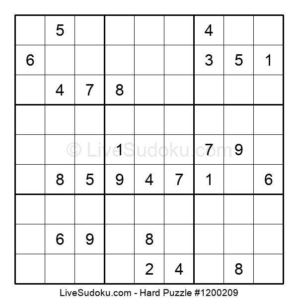 Hard Puzzle #1200209