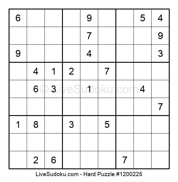 Hard Puzzle #1200225
