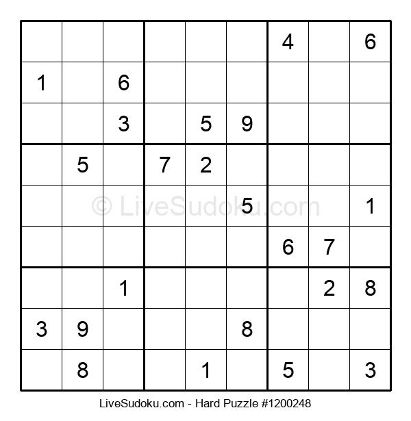 Hard Puzzle #1200248