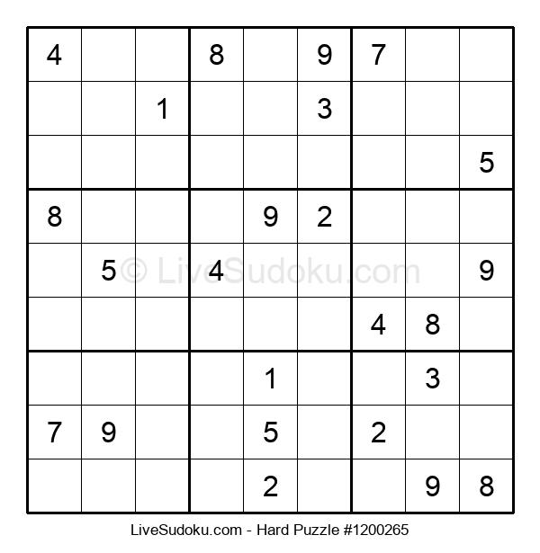 Hard Puzzle #1200265