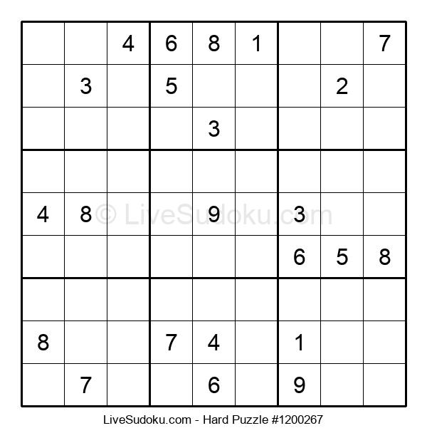 Hard Puzzle #1200267