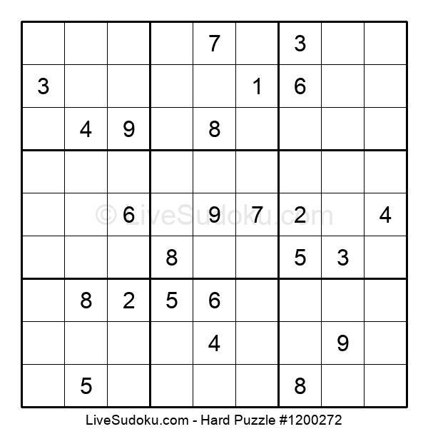 Hard Puzzle #1200272