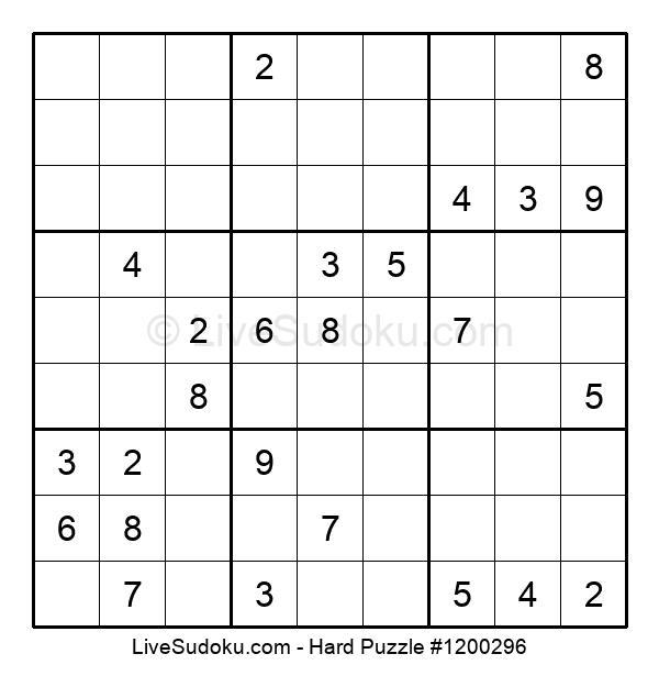 Hard Puzzle #1200296