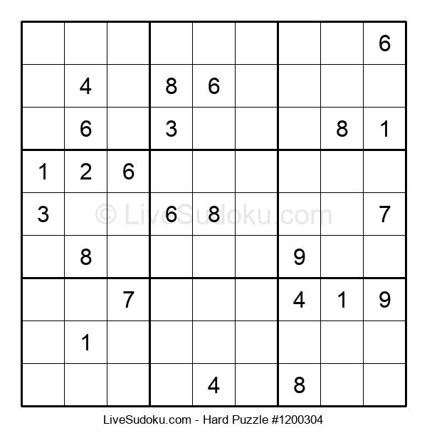 Hard Puzzle #1200304