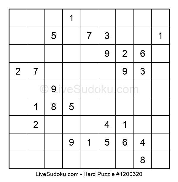 Hard Puzzle #1200320