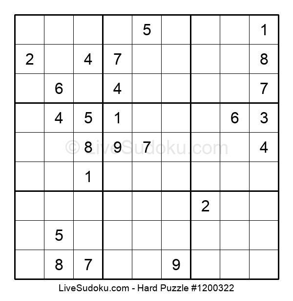 Hard Puzzle #1200322
