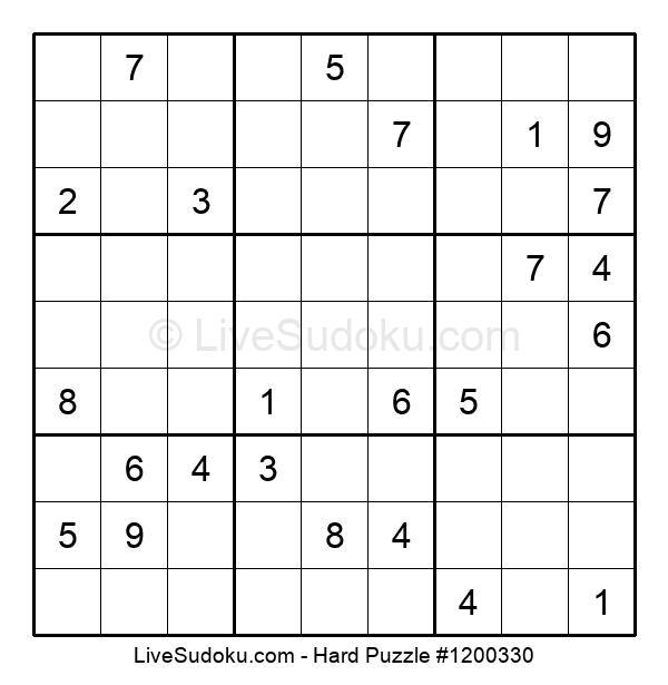 Hard Puzzle #1200330