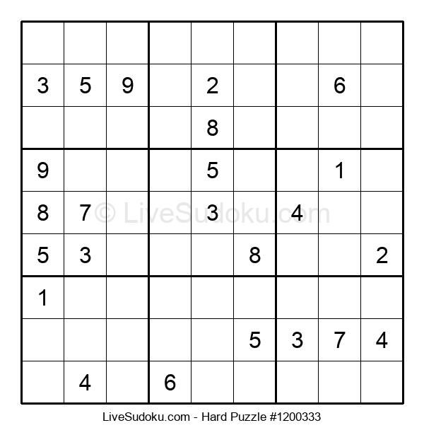 Hard Puzzle #1200333