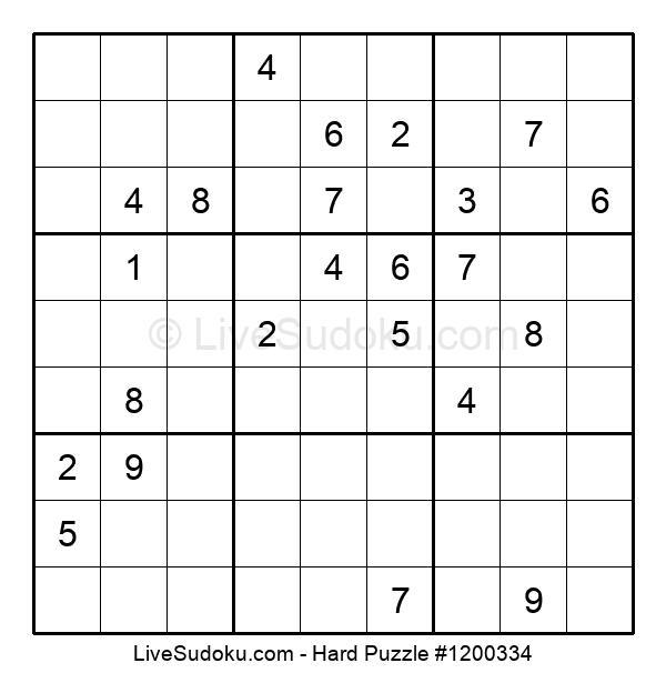 Hard Puzzle #1200334