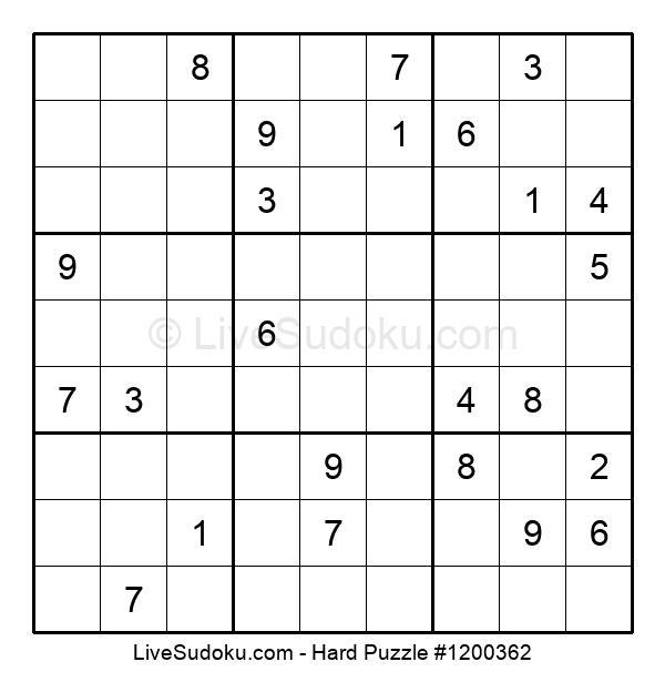 Hard Puzzle #1200362