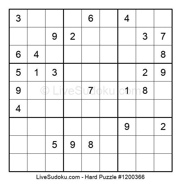 Hard Puzzle #1200366