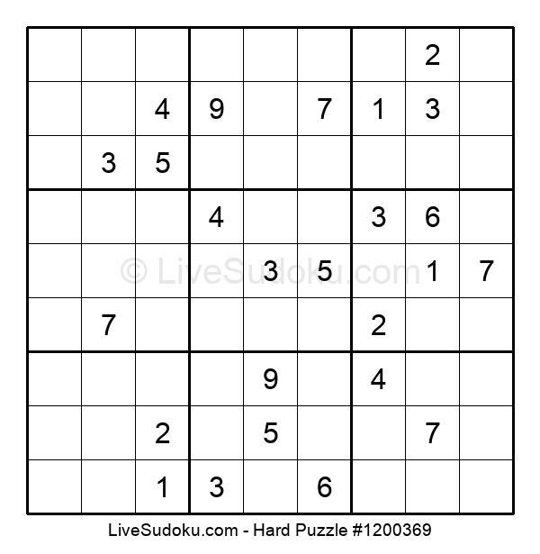 Hard Puzzle #1200369
