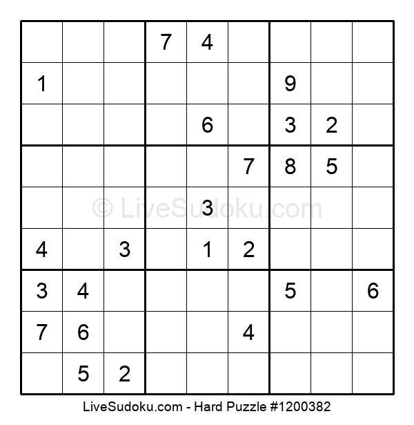 Hard Puzzle #1200382