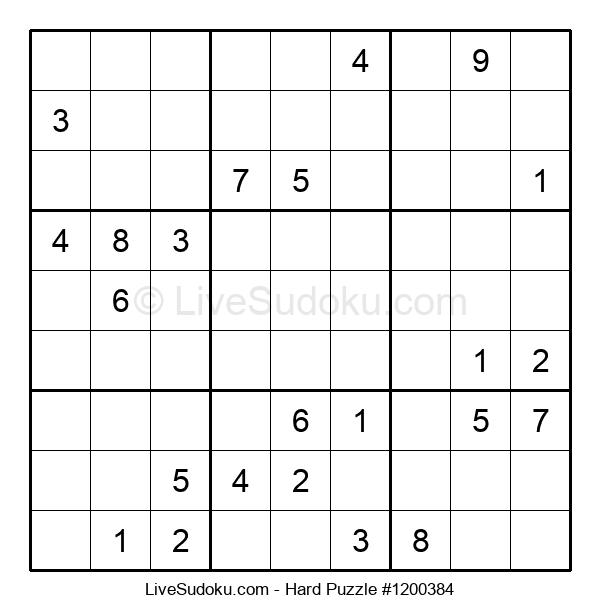 Hard Puzzle #1200384