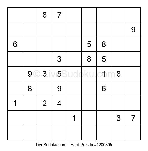 Hard Puzzle #1200395