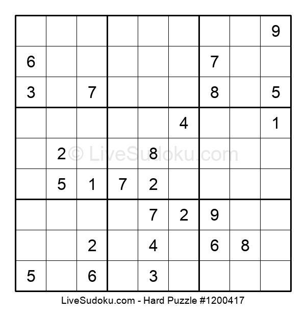 Hard Puzzle #1200417