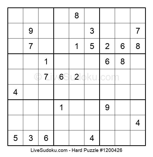 Hard Puzzle #1200426