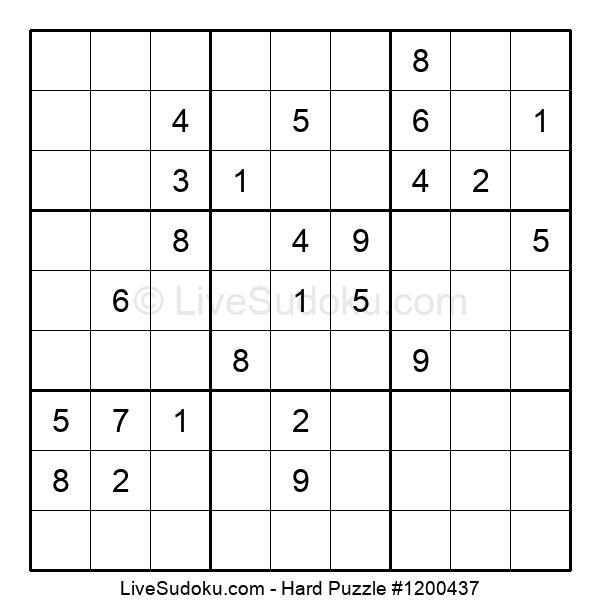 Hard Puzzle #1200437