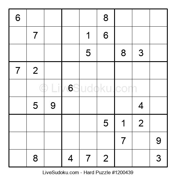 Hard Puzzle #1200439