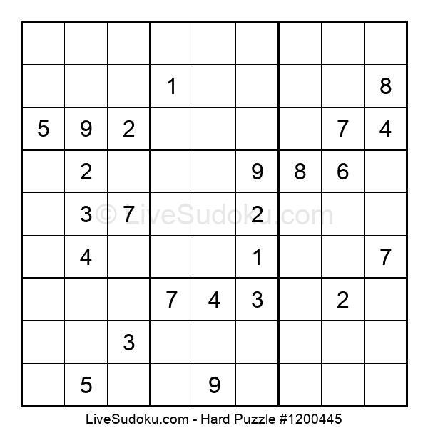 Hard Puzzle #1200445