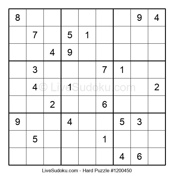 Hard Puzzle #1200450