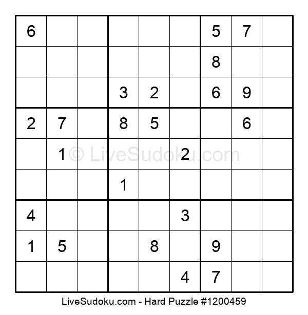 Hard Puzzle #1200459