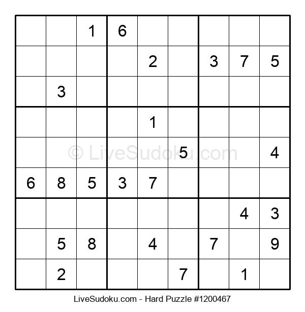 Hard Puzzle #1200467