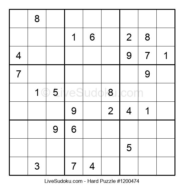 Hard Puzzle #1200474