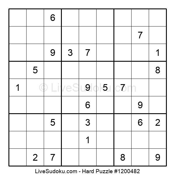 Hard Puzzle #1200482