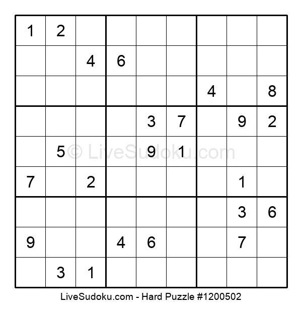 Hard Puzzle #1200502
