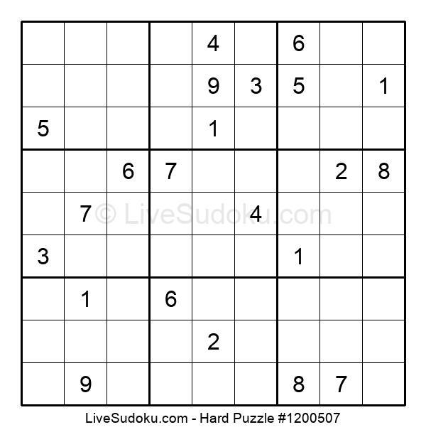 Hard Puzzle #1200507