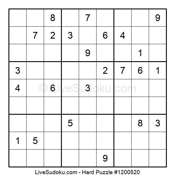 Hard Puzzle #1200520