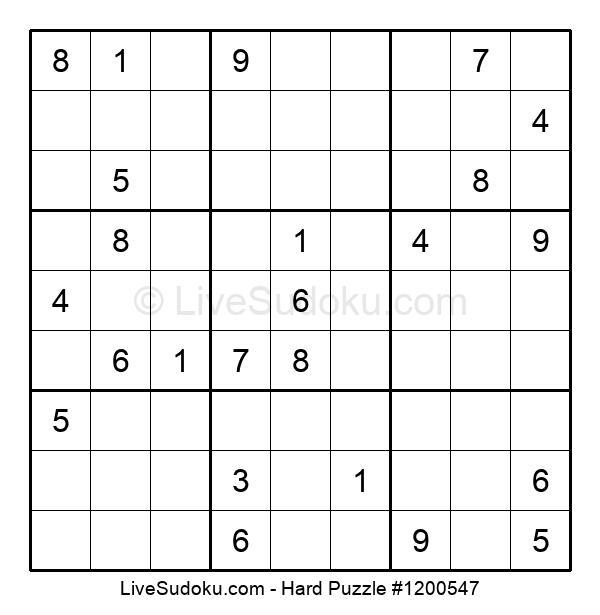 Hard Puzzle #1200547