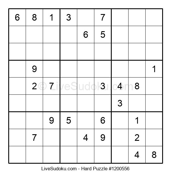 Hard Puzzle #1200556